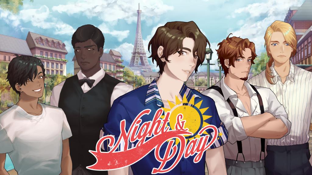 Night and Day, a Yaoi Visual Novel project video thumbnail