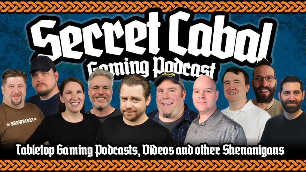 Project image for The Secret Cabal Gaming Podcast is at Full Froth in 2020!