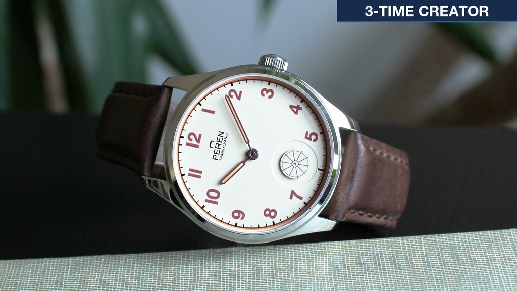 Peren Hintz Swiss Watch. A tribute to old school watchmaking project video thumbnail