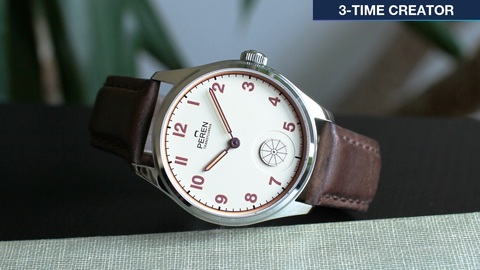 Limited Edition Swiss Made mechanical Watch without the retail markup. Celebrating Swiss and Transylvanian cooperation