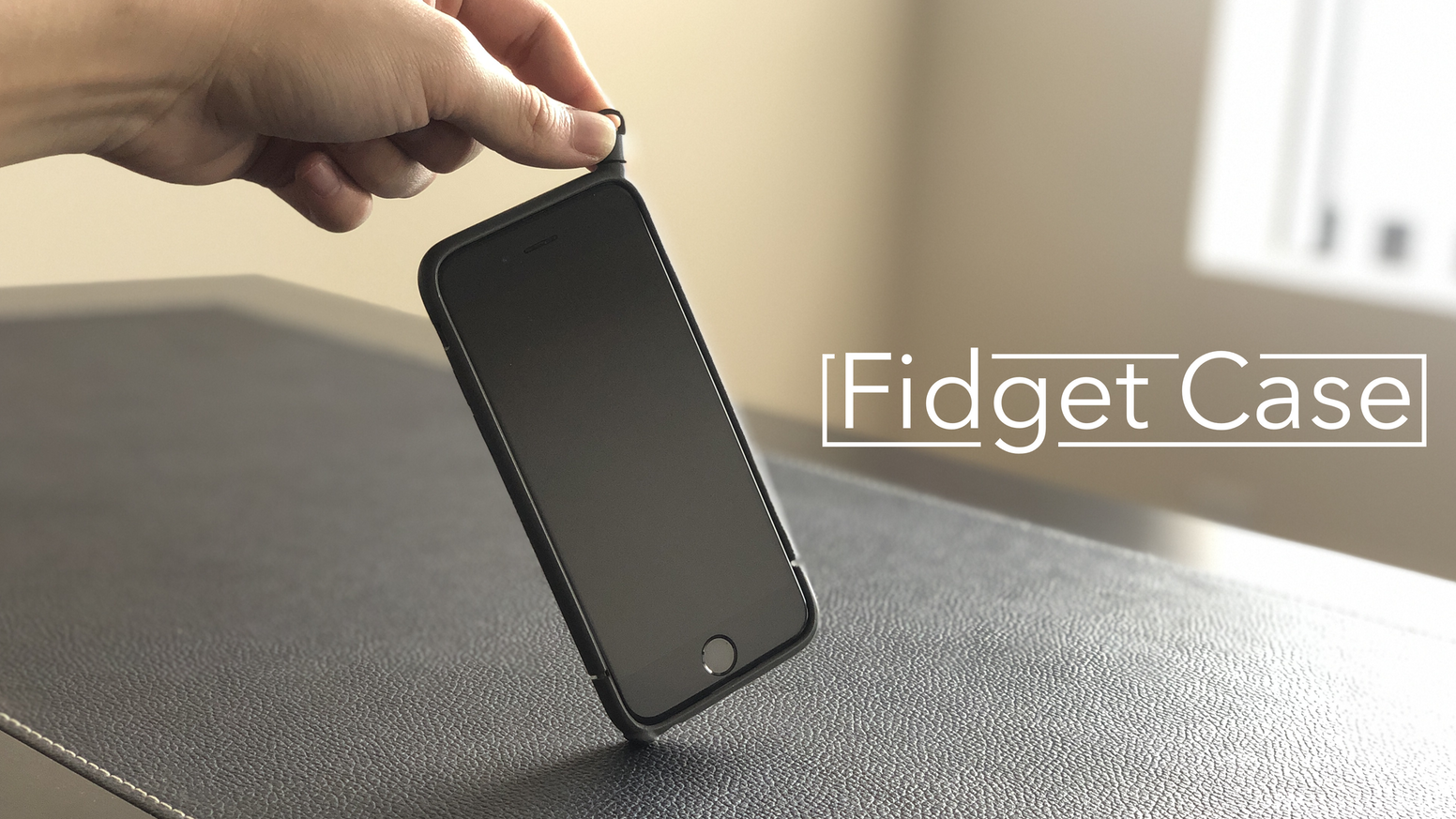 Coming soon: Fidget Case | A different way to play with your phone