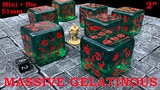 Massive Gelatinous Cube - 51mm Mini and Die - Six-Sided Dice thumbnail