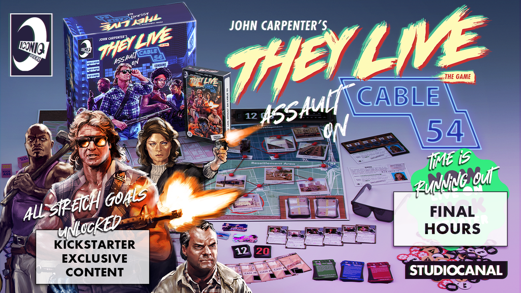 They Live : Assault on Cable 54 project video thumbnail