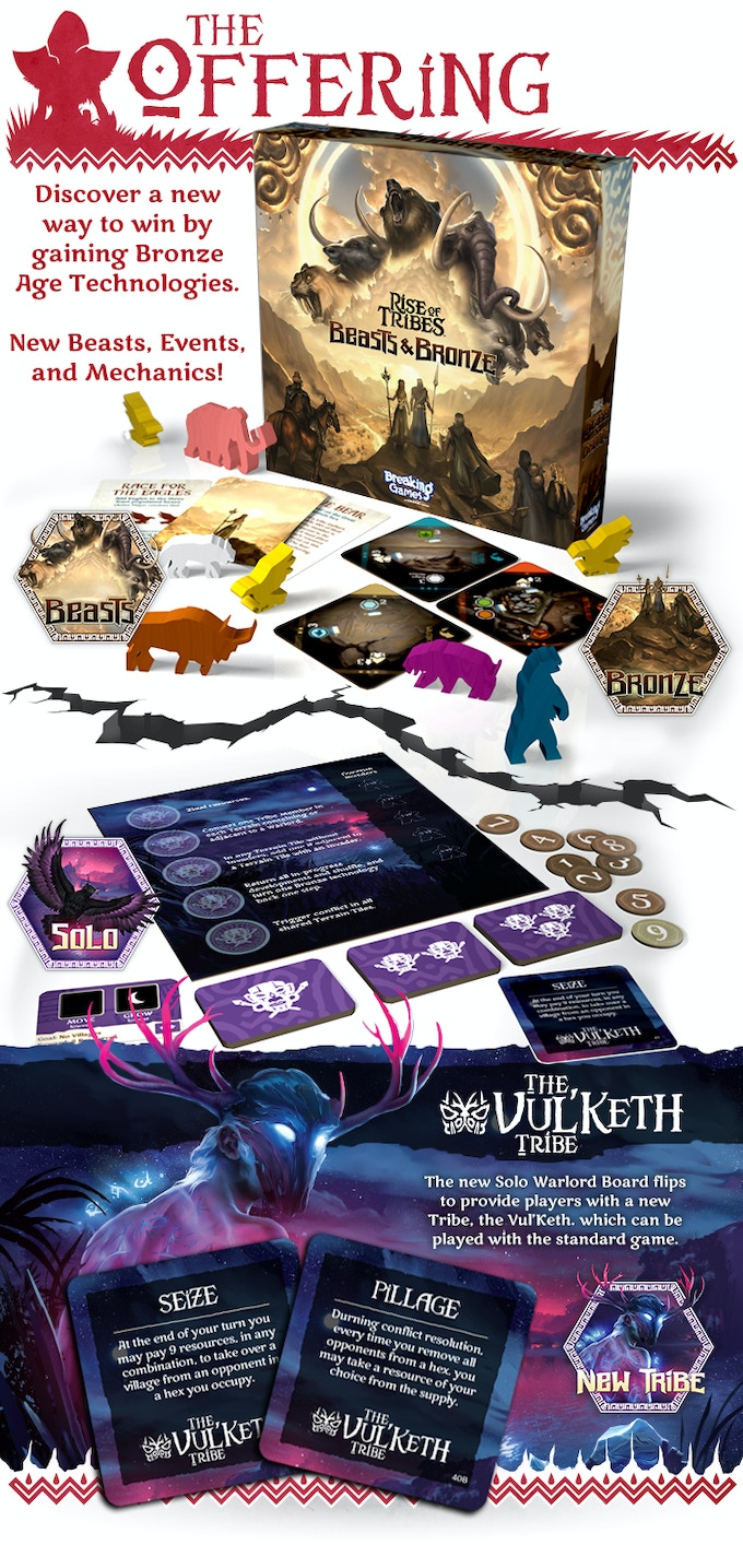Rise of Tribes: Beasts & Bronze and The Vul'Keth Invasion