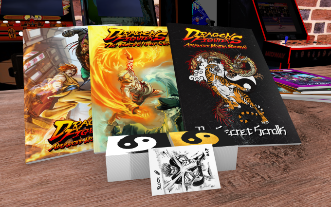 Dragon Fighters with Fighting Cards