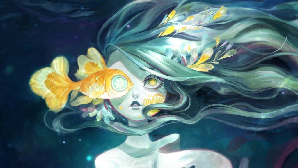 Beneath the Waves: A book of merfolk mythology project video thumbnail