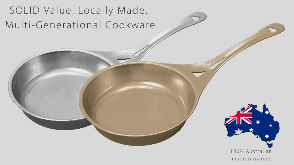SOLIDTEKNICS Lightning iron skillet – 100% Australian made! project video thumbnail