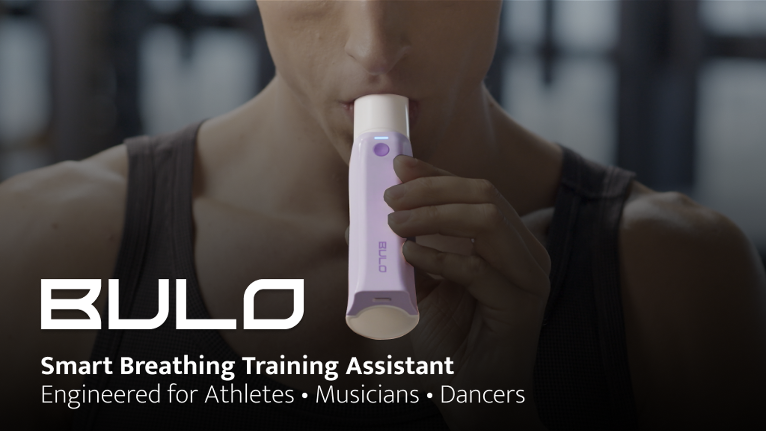 Created by ex-SAMSUNG engineers, Bulo is a hand-held device that measures & analyzes the state of your airflow so you can train better!
