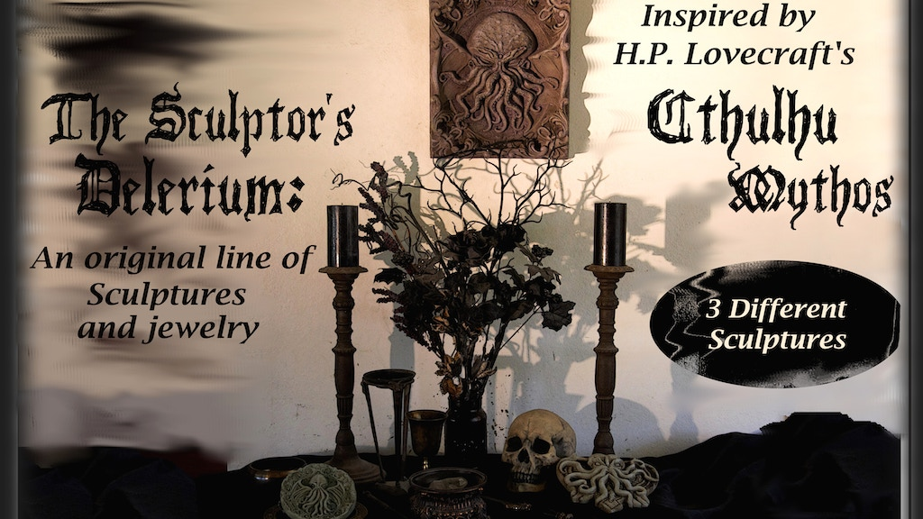 The Sculptor's Delerium: an homage to H.P. Lovecraft project video thumbnail