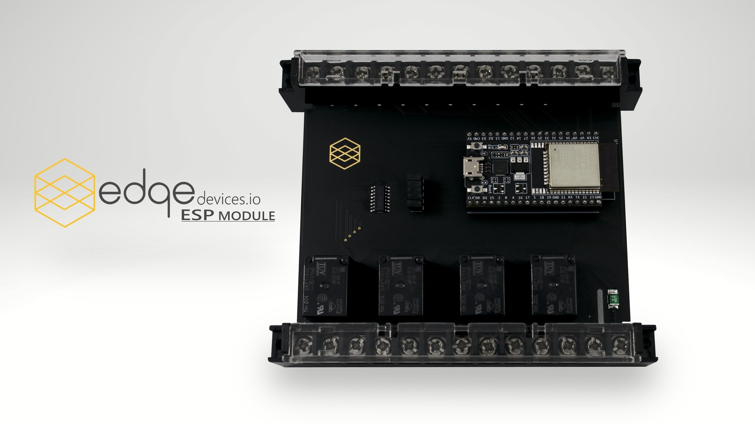 ESP Module   The IoT Module based on the ESP32 by Edge Devices, the creators of Pi-oT