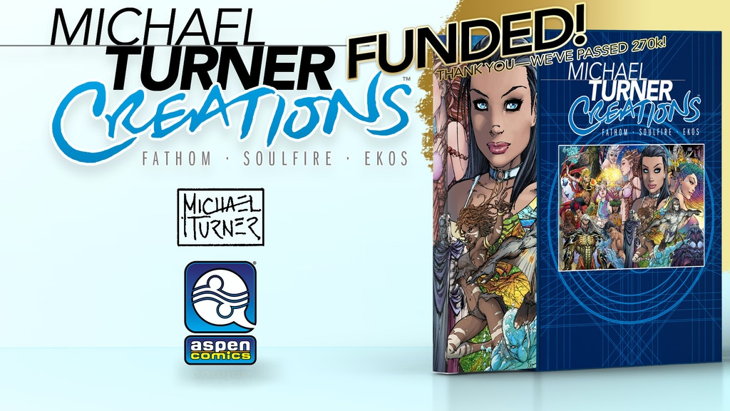 Michael Turner Creations Hard Cover project video thumbnail
