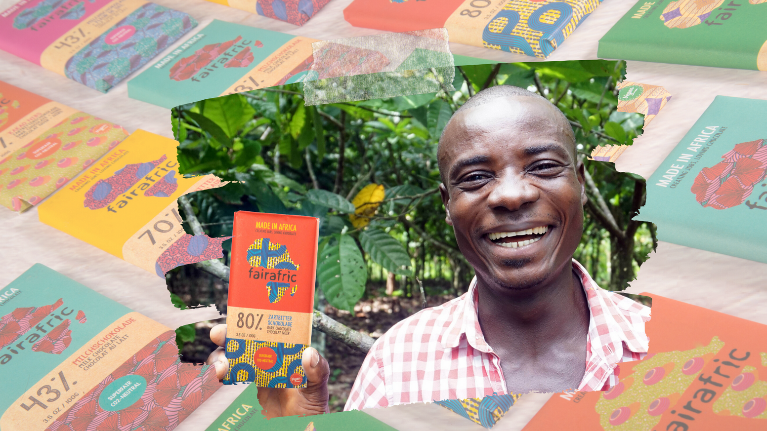 Let's start a solar-powered chocolate factory in rural Ghana