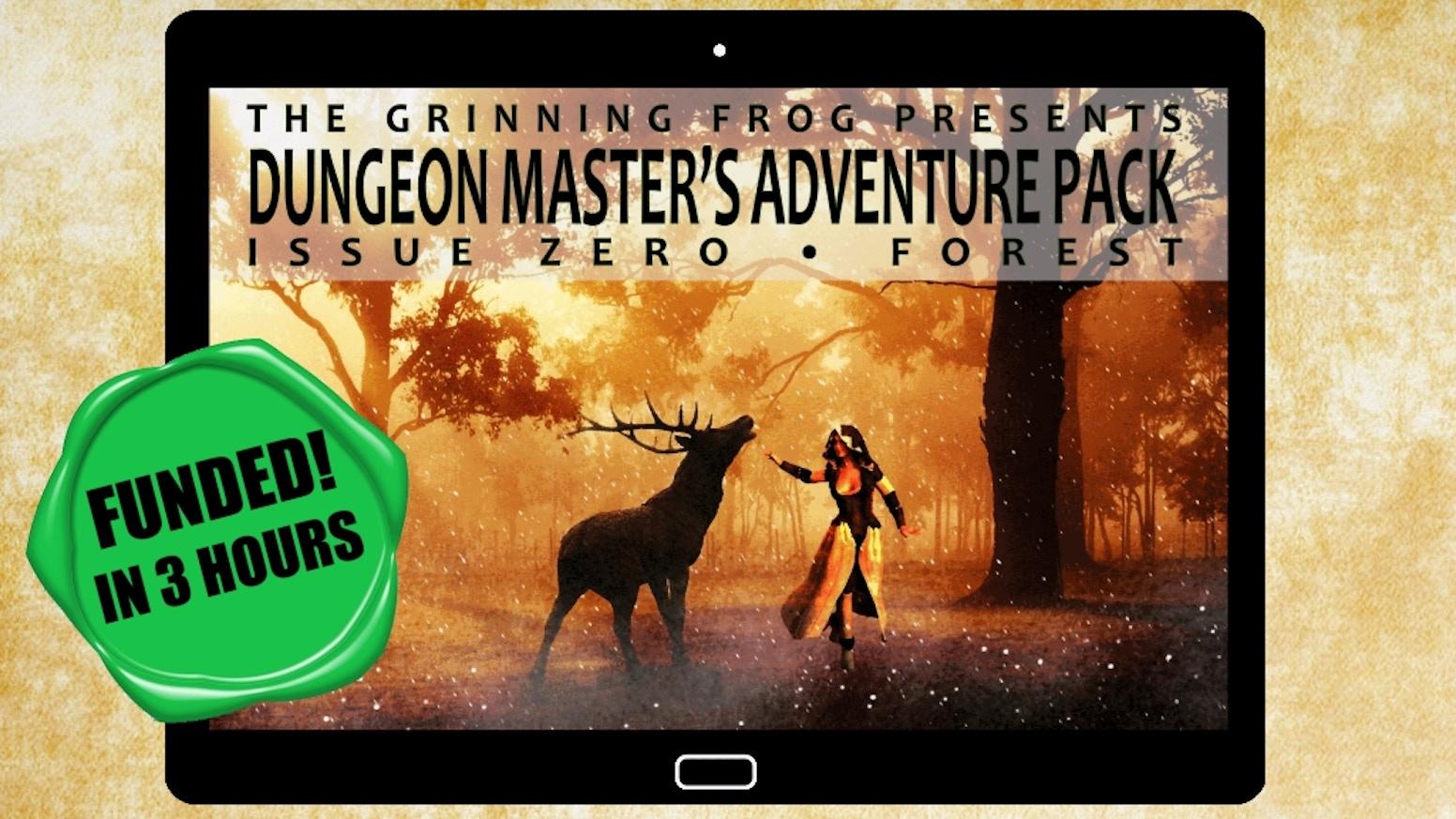 A monthly digital Fantasy RPG Magazine
