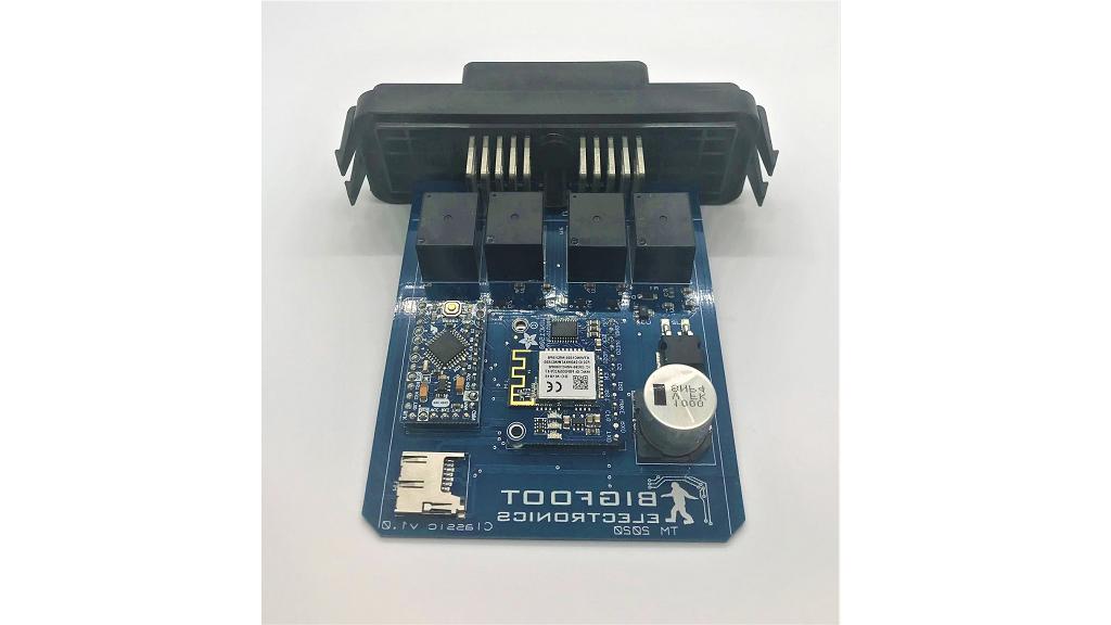 Bigfoot WiFi Relay Board (Arduino based) project video thumbnail