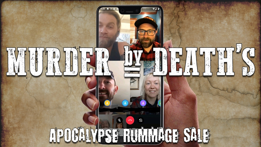 Murder By Death: Limited Merch & Apocalypse Rummage Sale project video thumbnail