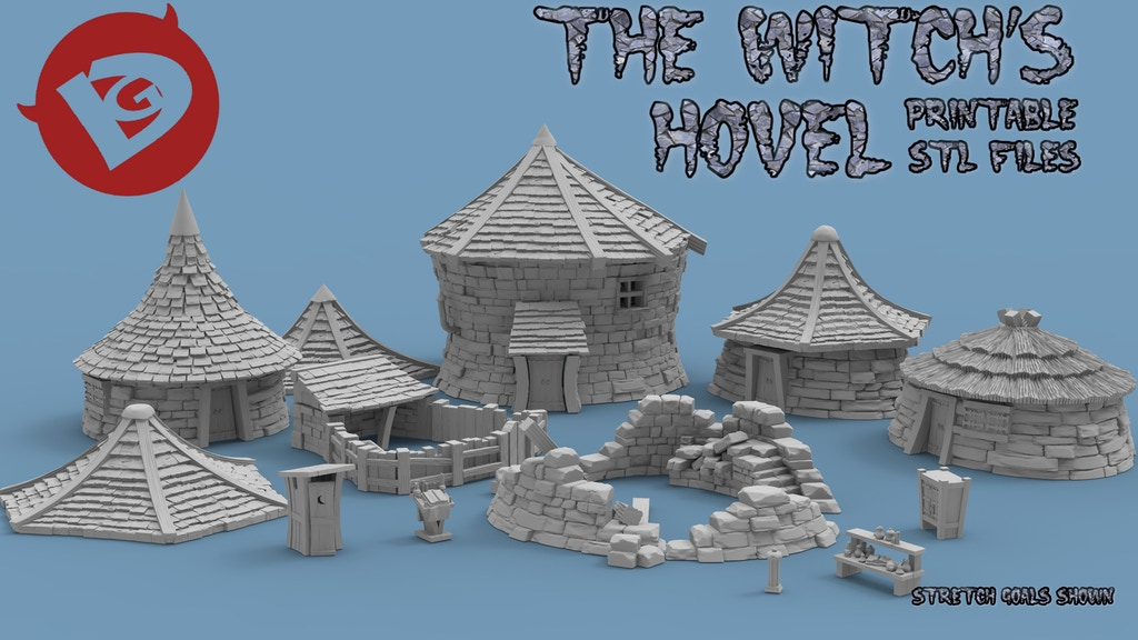 The Witch's Hovel project video thumbnail