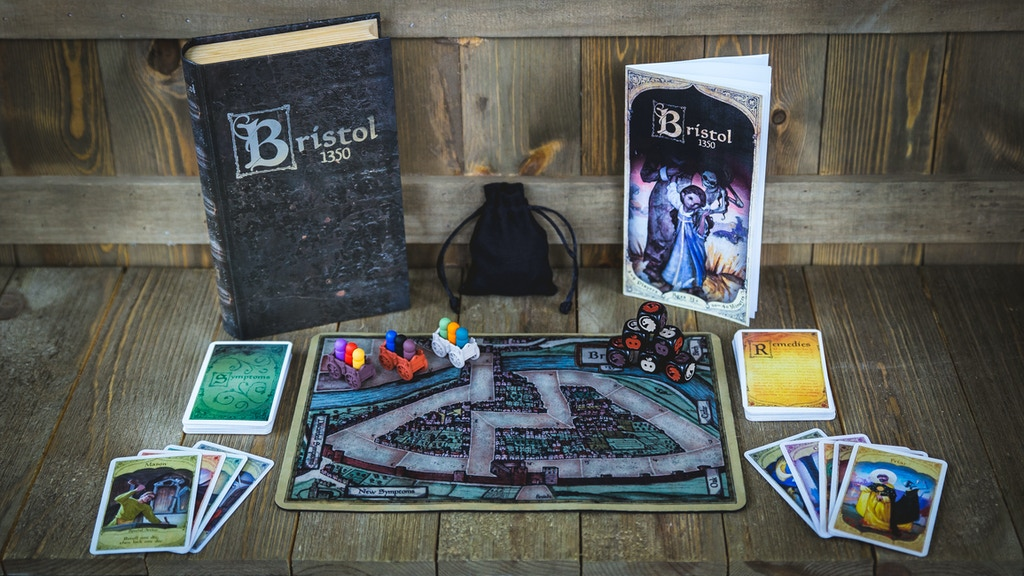 Bristol 1350: A Medieval Game of Racing, Plague & Deceit project video thumbnail