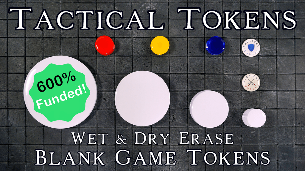 Tactical Tokens: 1-4 Inch Wet & Dry Erase Blank Game Tokens project video thumbnail