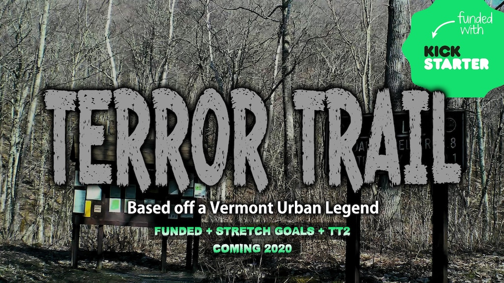 TERROR TRAIL #1-#2 | Short Horror Flick [FUNDED] project video thumbnail
