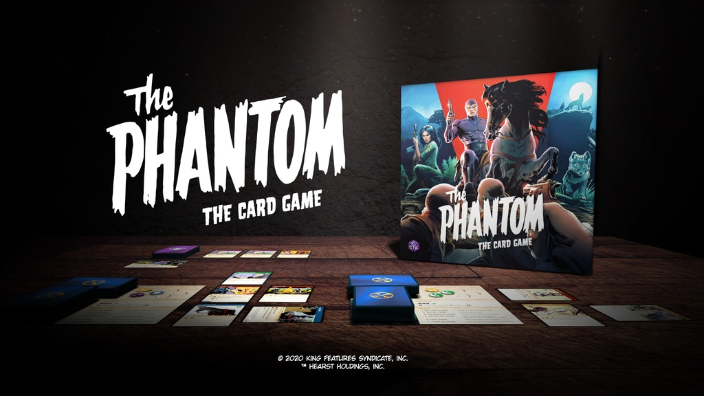 The Phantom: The Card Game project video thumbnail