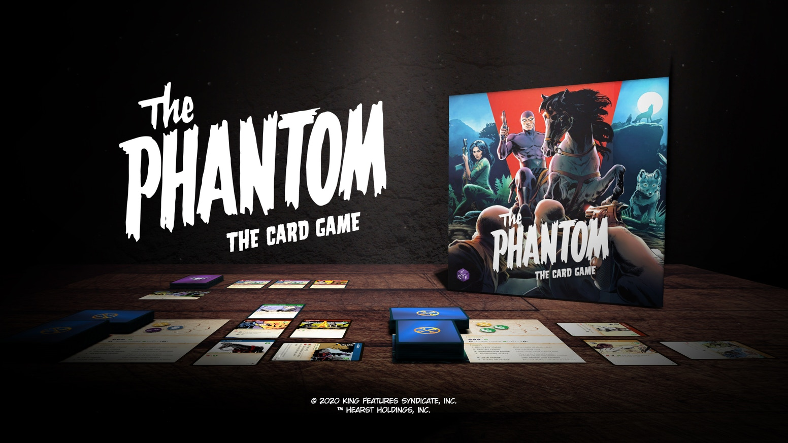 A cooperative card game that lets you relive adventures set in the world of the Phantom