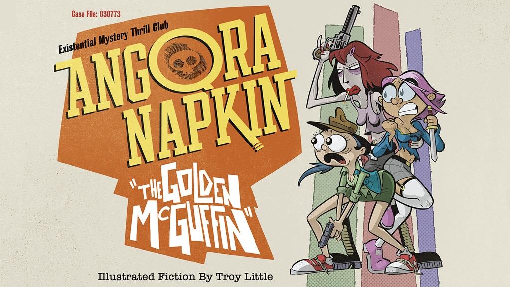 Angora Napkin: The Golden McGuffin project video thumbnail