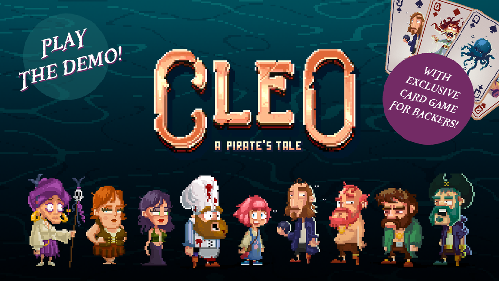 CLEO - a pirate's tale Project-Video-Thumbnail