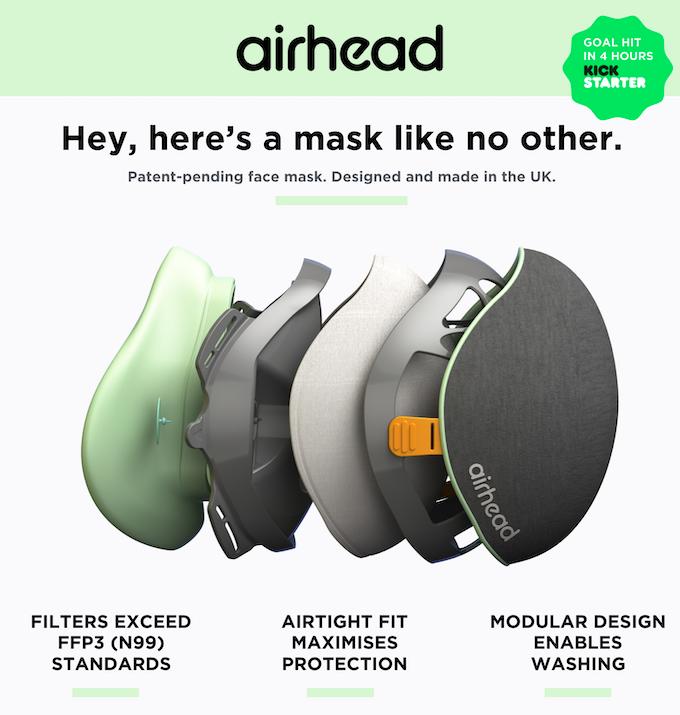 Supporta questo progetto per la creazione di un nuovo tipo di mascherina antinquinamento (e fattene mettere qualcuna da parte per te).