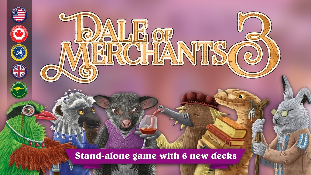 Dale of Merchants 3 project video thumbnail