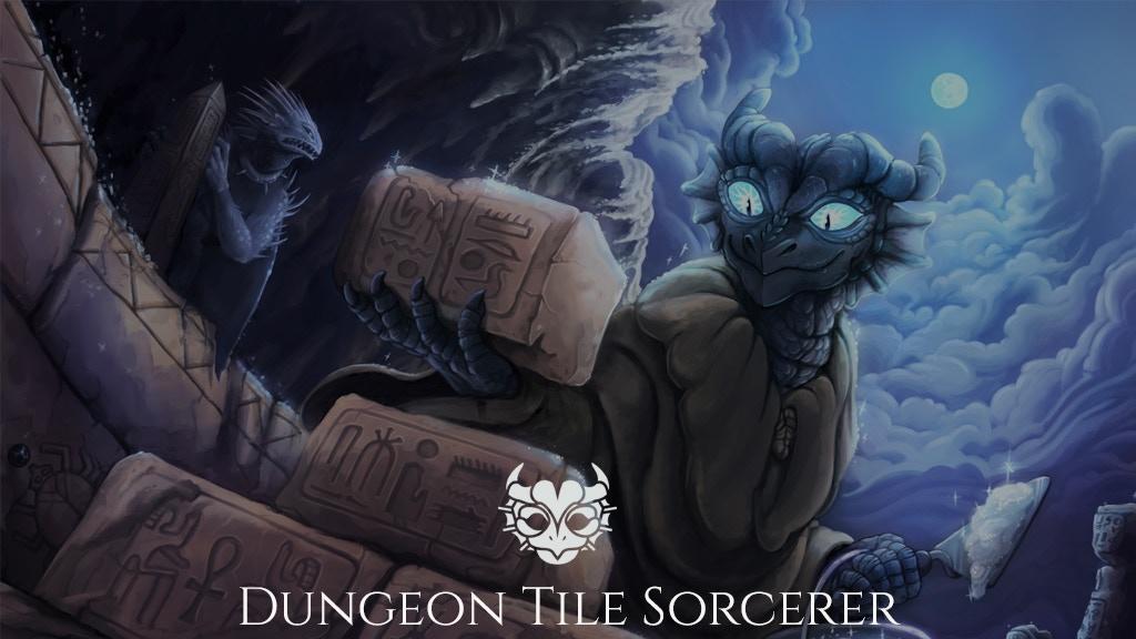 Dungeon Tile Sorcerer
