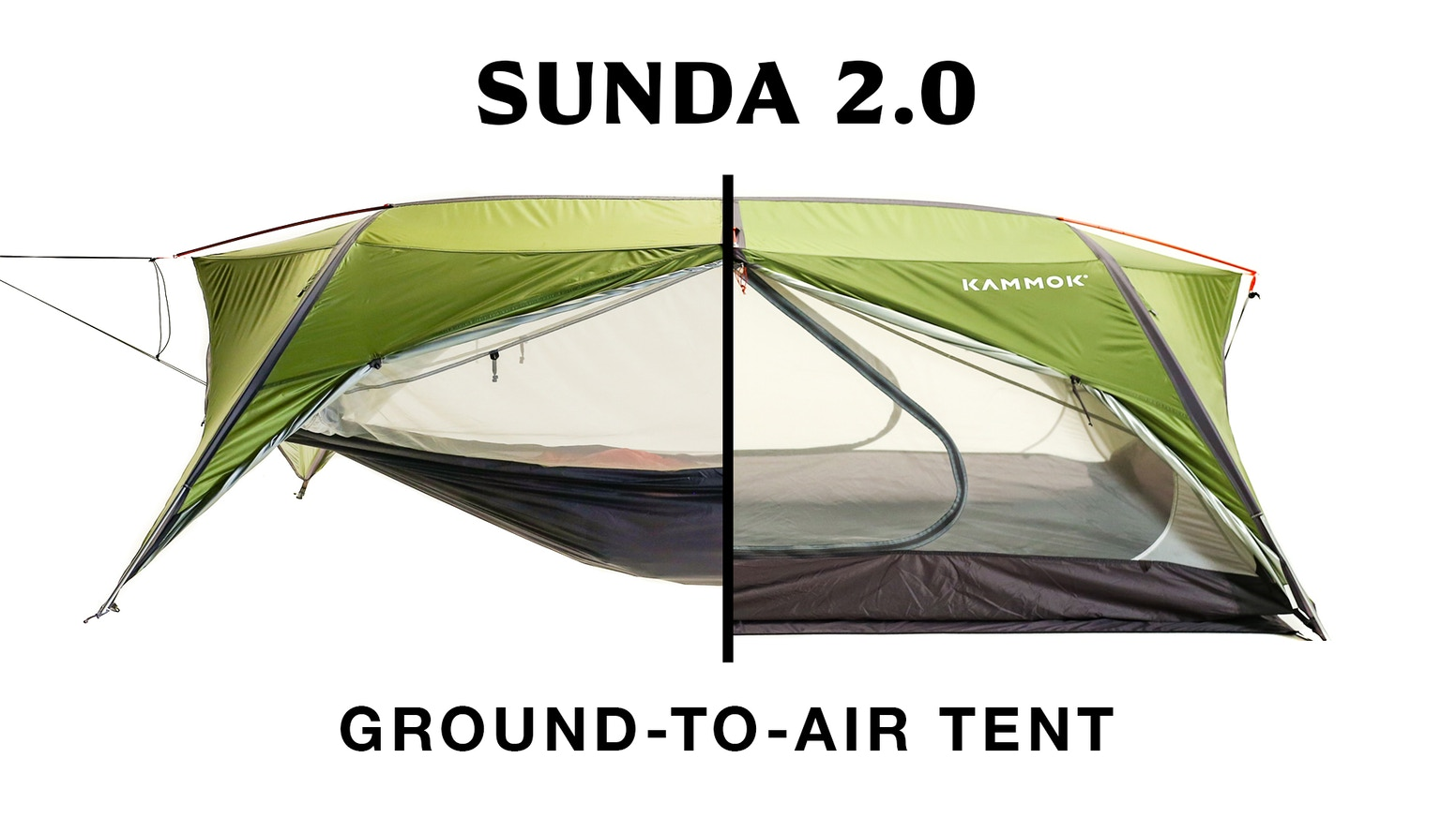 An innovative tent that adapts to any terrain. Incredibly versatile and easy to use, you're equipped to camp on the ground or in air.