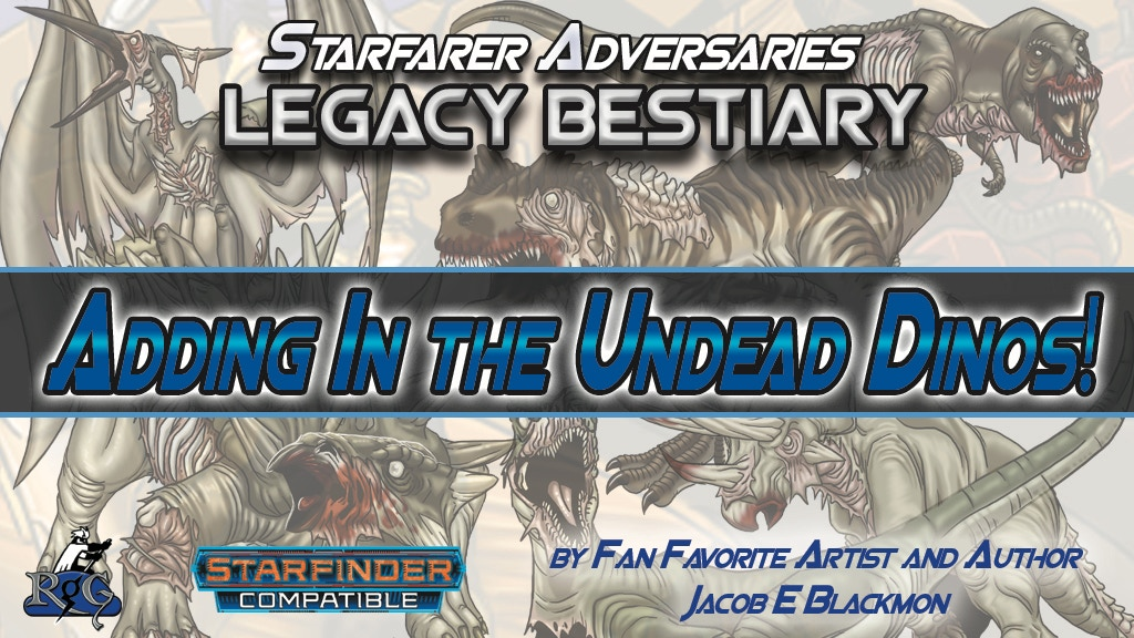 Project image for Starfinder Legacy Bestiary