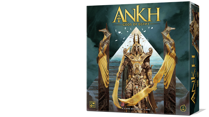 Take the role of Egyptian gods fighting to become the one true god in an epic board game from the creators of Blood Rage and Rising Sun