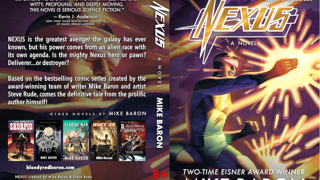 Nexus, a Novel project video thumbnail