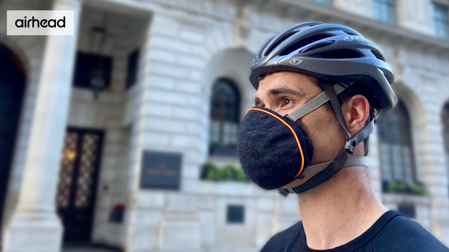 Patent-pending face mask. Designed and made in the UK.