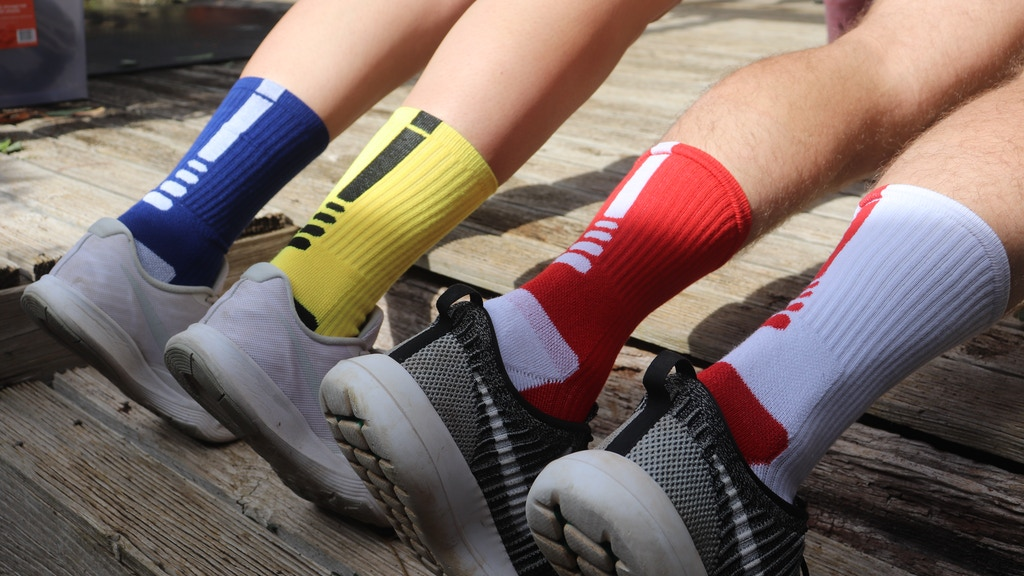 Odd Athletic Socks by the Odd Sock Mob