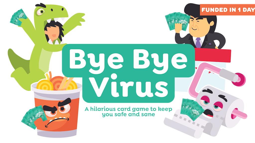 Bye Bye Virus: A fun game so that you can be safe & sane project video thumbnail