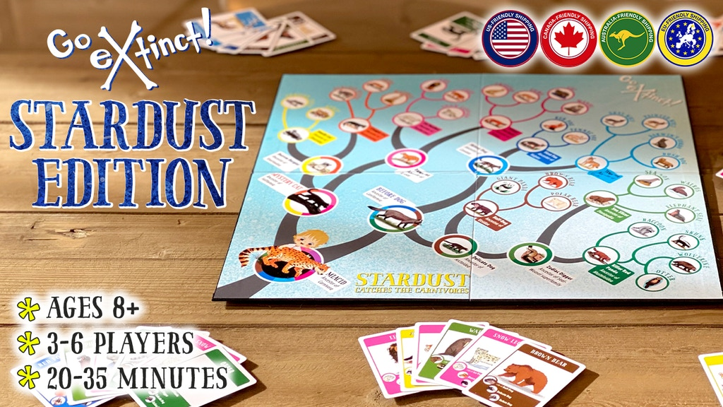 Stardust Edition Go Extinct!: Evolutionary Tree Board Game project video thumbnail