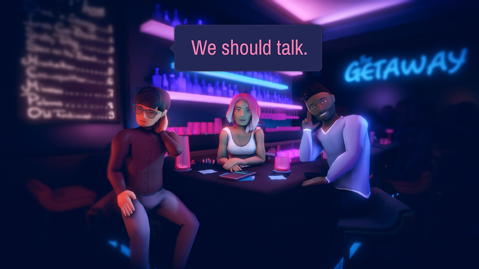An award-winning videogame about the nuance of communication in relationships.
