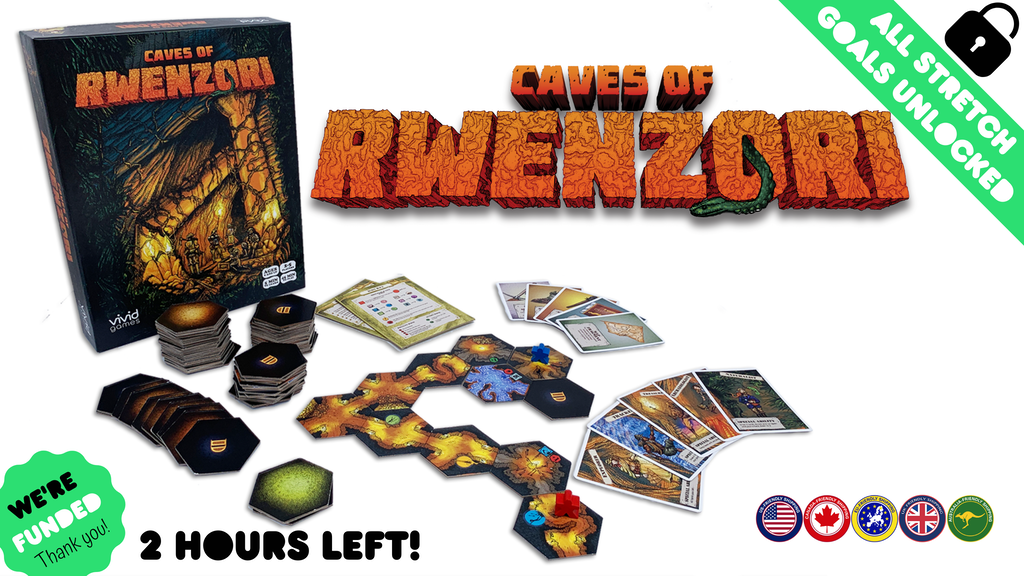 Caves of Rwenzori: Run! Only one ever comes out! project video thumbnail