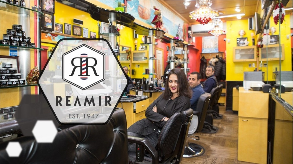 Project image for REAMIR Barbers Stay Home
