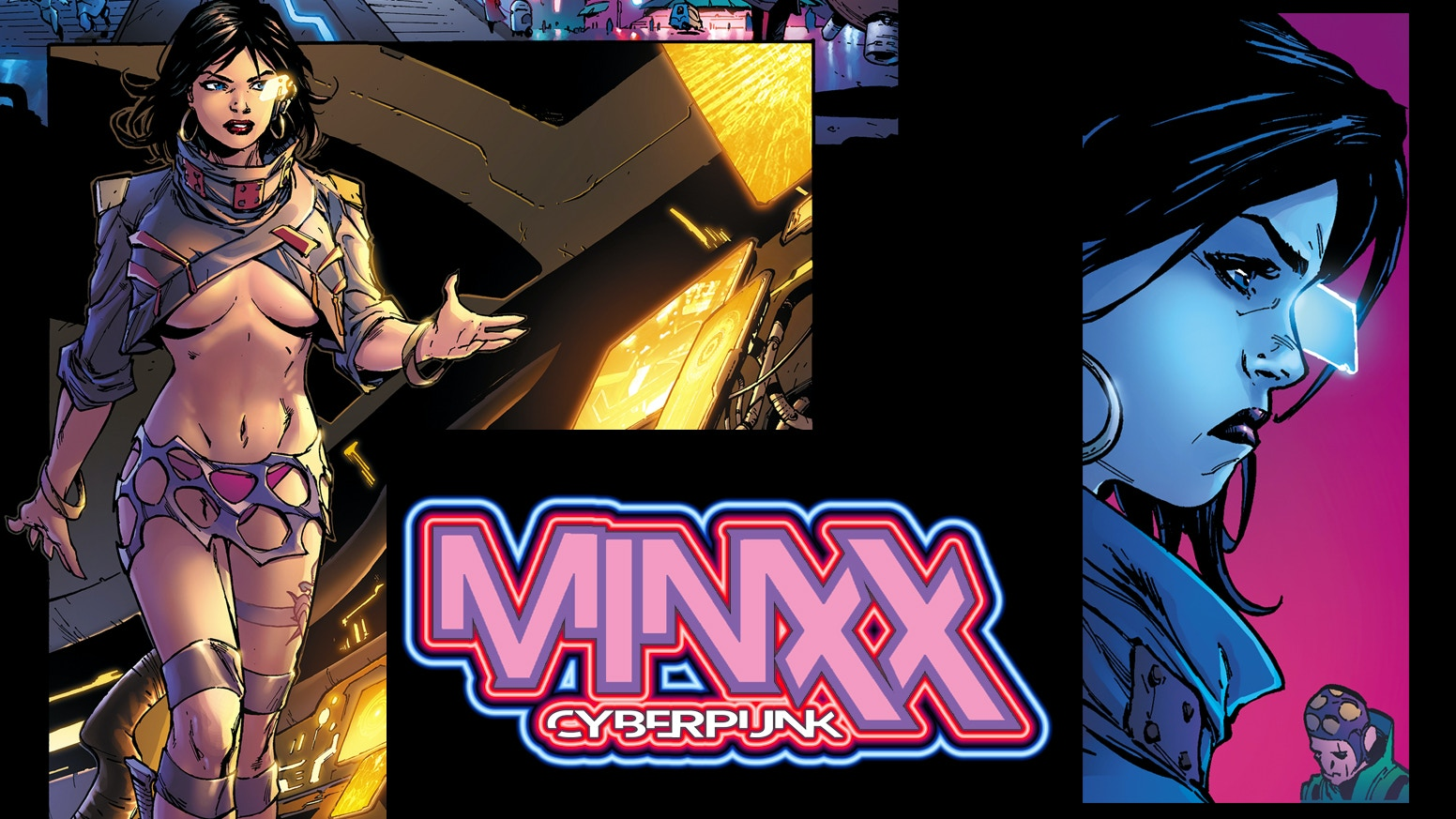 Minxx is a brand new, action-packed cyberpunk adventure