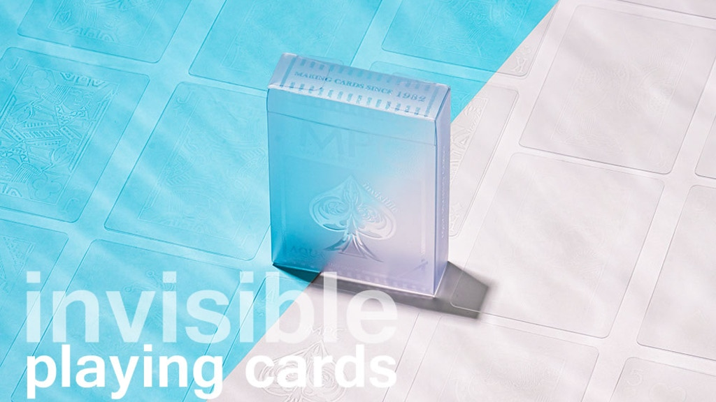 Aqua Deck - The Invisible Playing Cards project video thumbnail