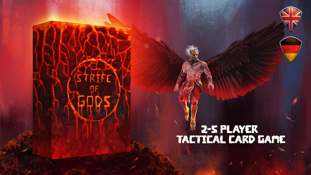 Strife of Gods: Tactical 2-5 Player Card Game