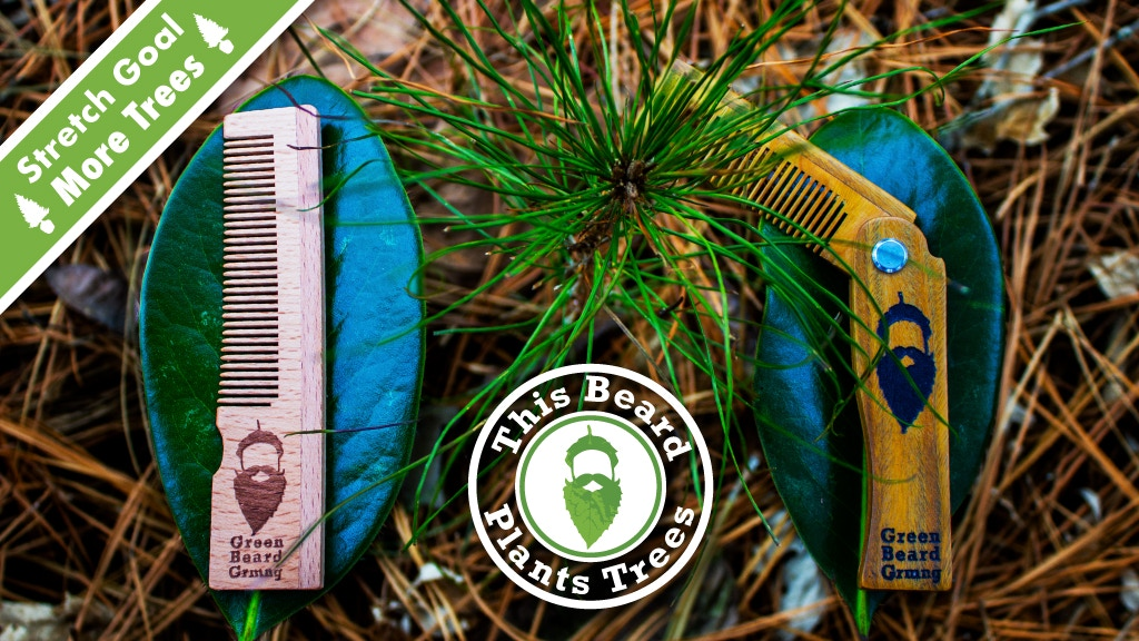 Pocket Combs that Plant Trees 🌲 Green Beard Grooming project video thumbnail