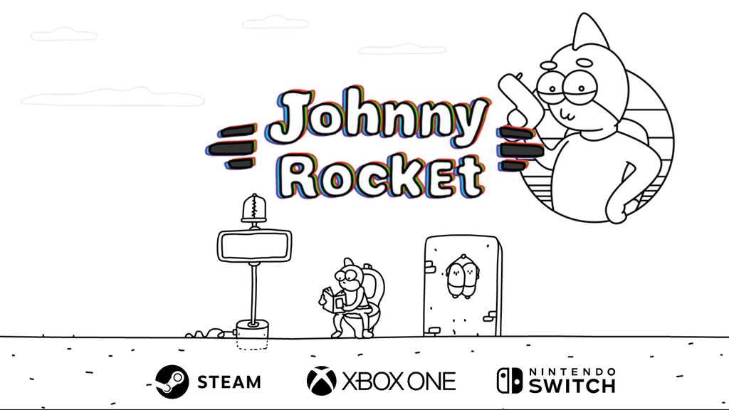 Johnny Rocket: 2D comic adventure