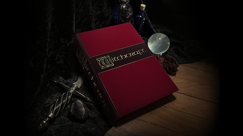 The Witchcraft Book project video thumbnail