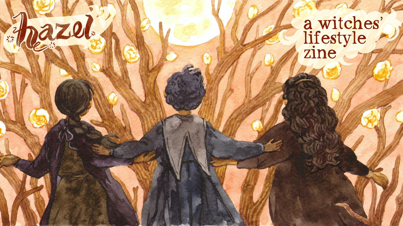 Our witches' lifestyle zines, full of magical comics, illustration, DIYs, and writing, comes into its fifth and final issue.