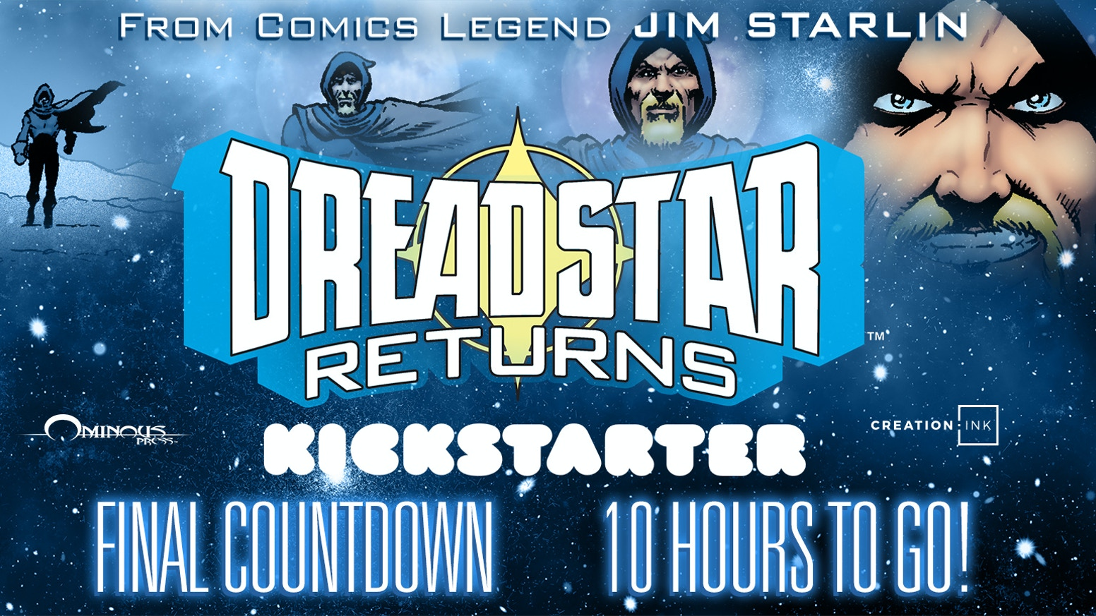 Vanth Dreadstar returns in an ALL NEW, 100-page adventure by series creator and legendary comic book writer/illustrator Jim Starlin.