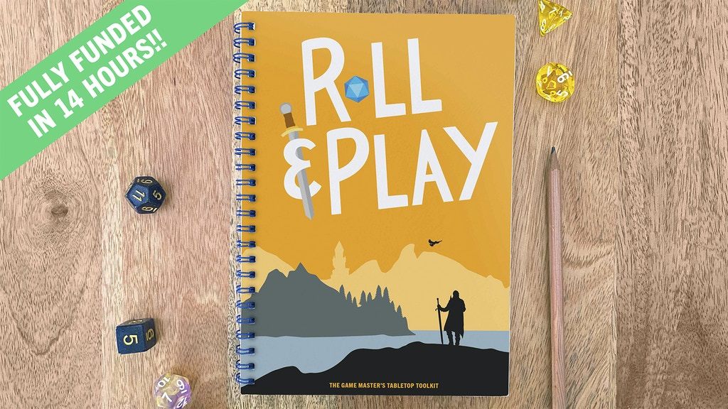Project image for Roll & Play: The Game Master's Tabletop Toolkit